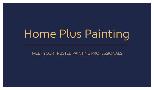 Home Plus Painting - Logo 1
