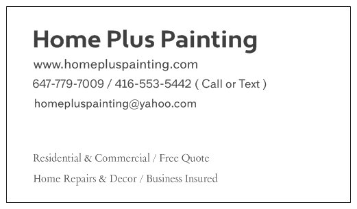 Home Plus Painting - Logo 2